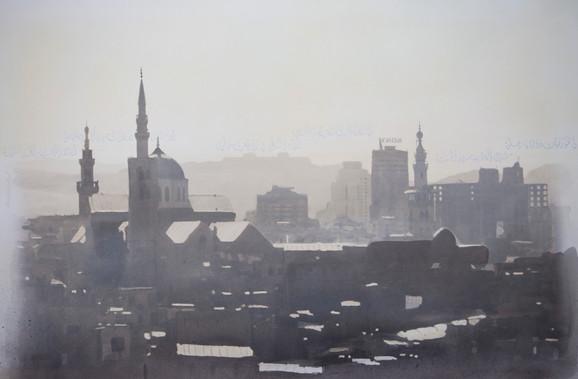 Towards Ummayid Mosque. Damascus. Syria
