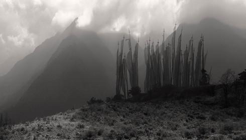 0035_Sacred Land. Towards Gangtey. Bhuta