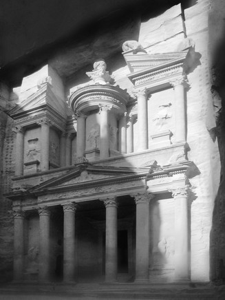 0066_The Treasury, Petra, Jordan.b.w.jpg