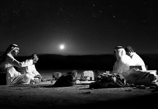 0031_Drinks under the stars. Nedj Desert