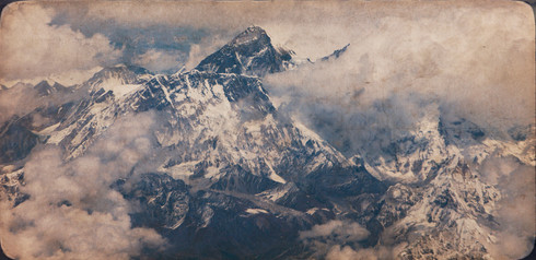 0004_Everest from 37,000 feet.gelatin pr