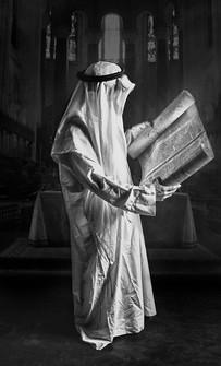 0009_Arab reading the Torah at St. John