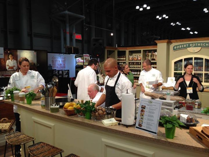 Chef Steve @ the Fancy Food Show NYC