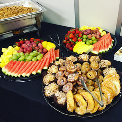 Fruit & Pastry Trays