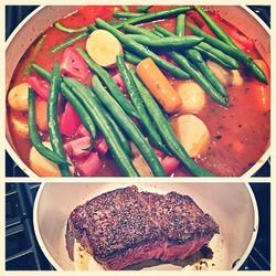 Natural beef pot roast