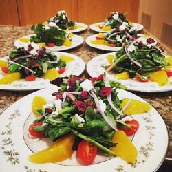 Winter Spring Mix salad