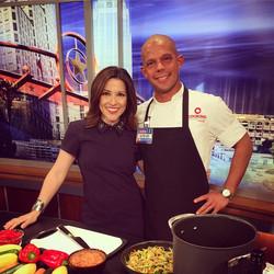 Chef Steve & Amanda Salinas from FOX 7