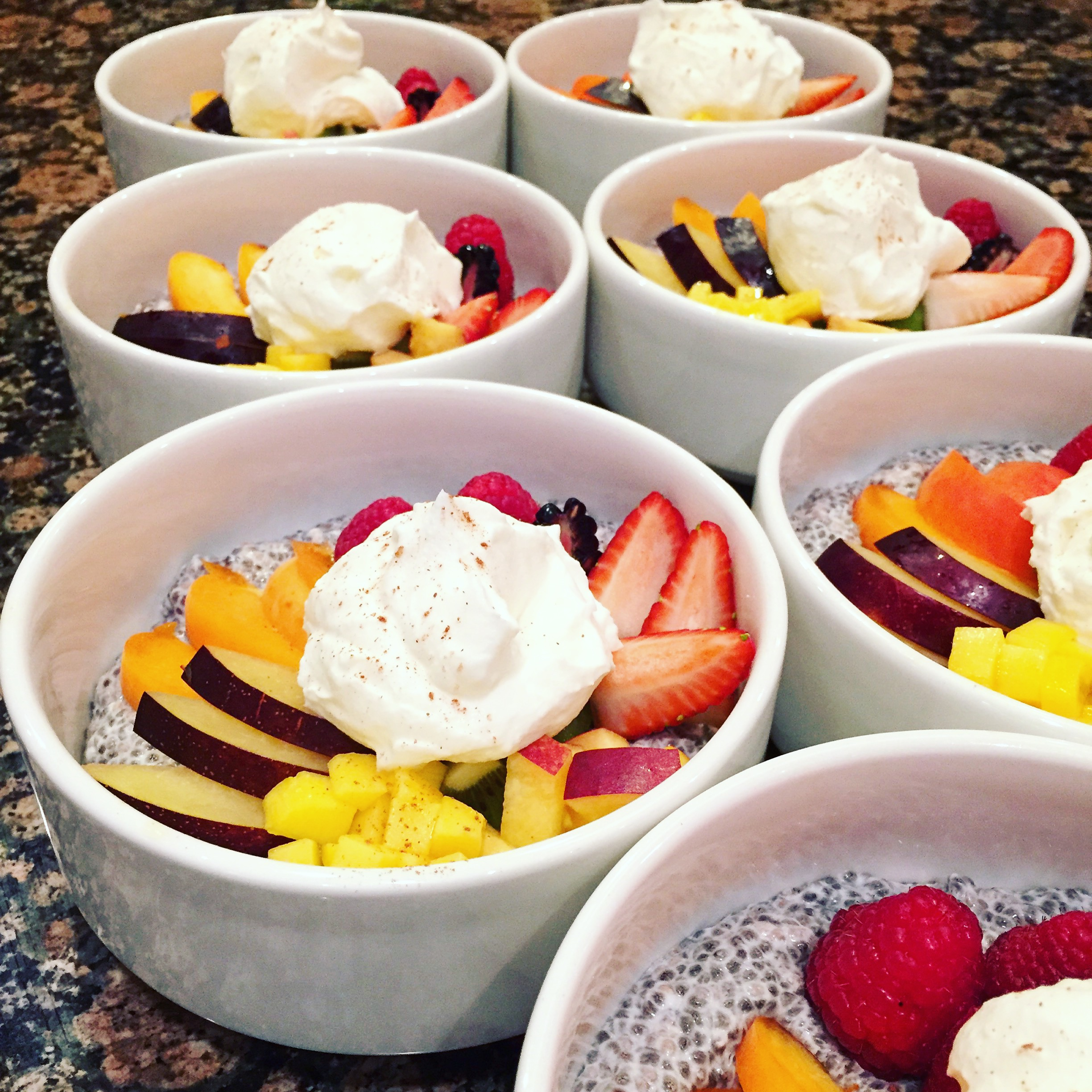 Chia Pudding Cups
