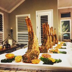 Greek Marinated Lamb Chops