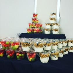 Parfaits & Fruit Cups for brunch