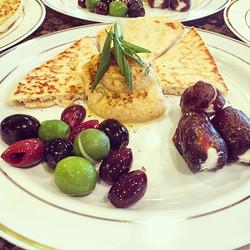 Moroccan appetizer meze