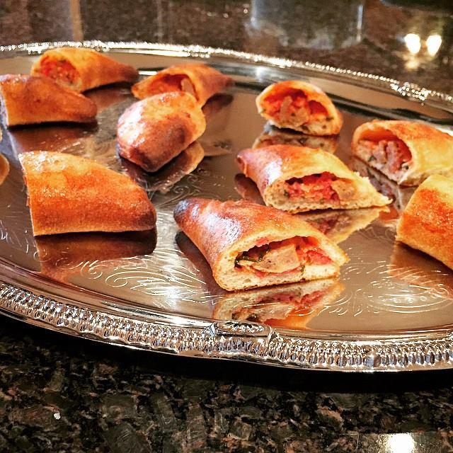 Spicy Sicilian Calzones