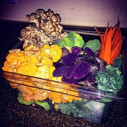 Thanksgiving 2014 vegetable prep