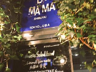 ライブ@渋谷La.mama 2016.10.24