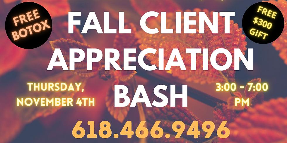 Fall Client Appreciation Bash!