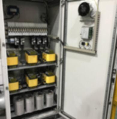 Power Factor Correction De-Tuned Capacitor Equipment. Design, Manufacture, Insatallation by PQIS Ltd.