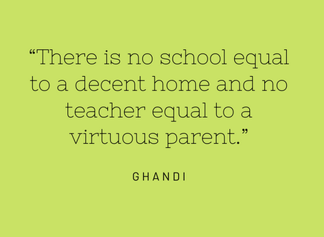 Yes, you ARE a teacher, and Ghandi believes in you!