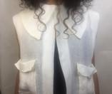 Sheer Linen Shirt Front