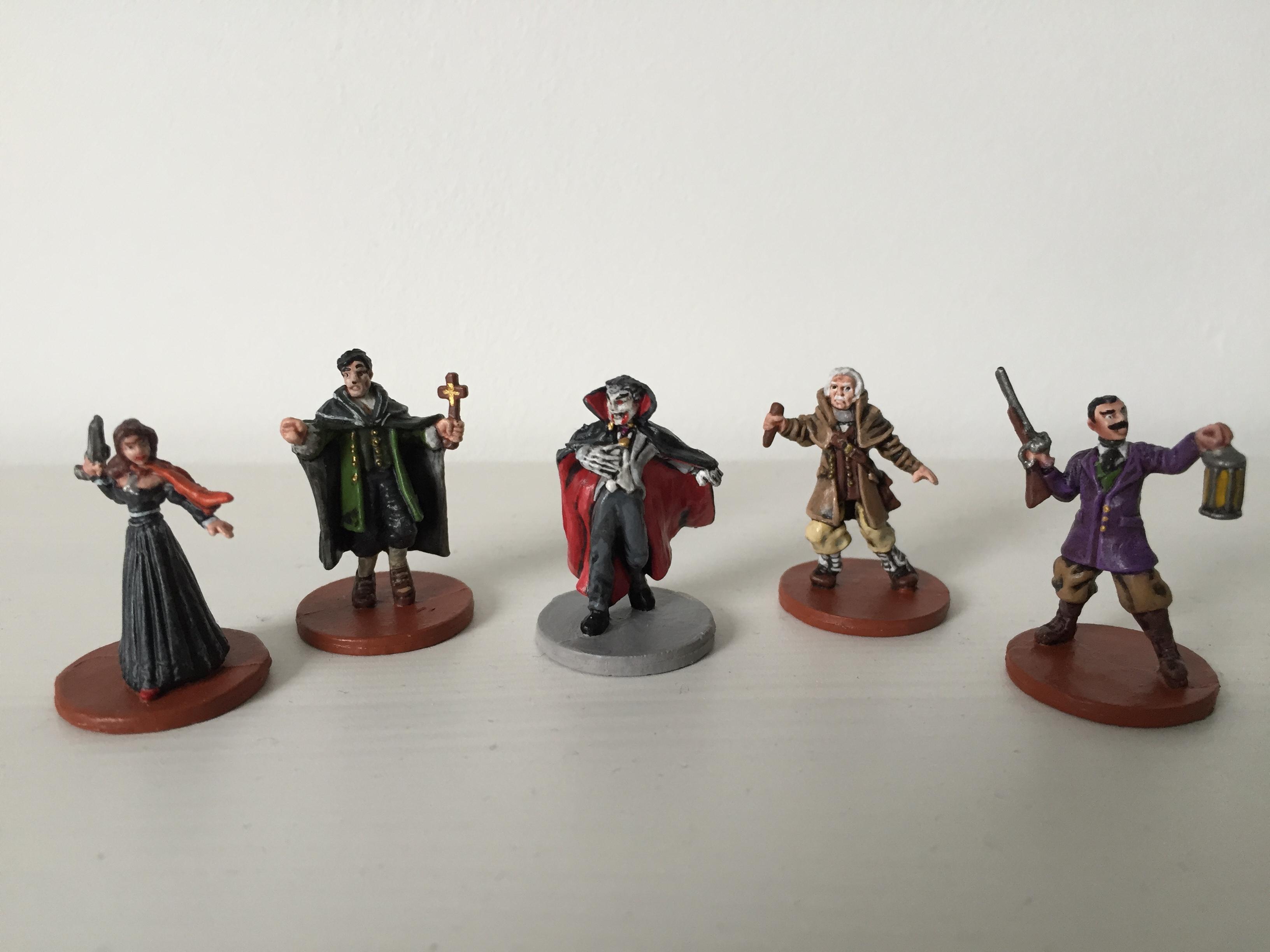 Dracula & Heroes front