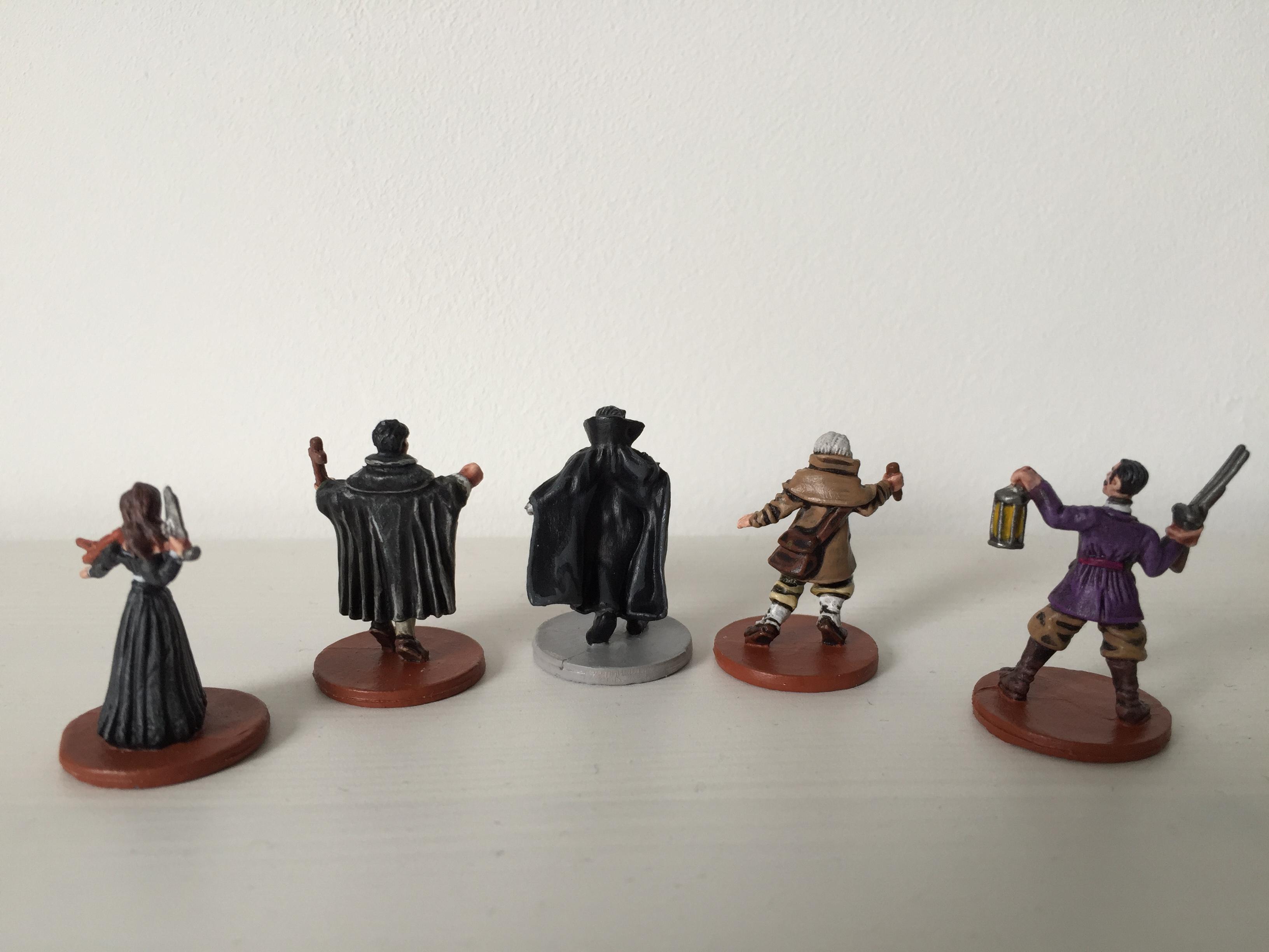Dracula & Heroes back