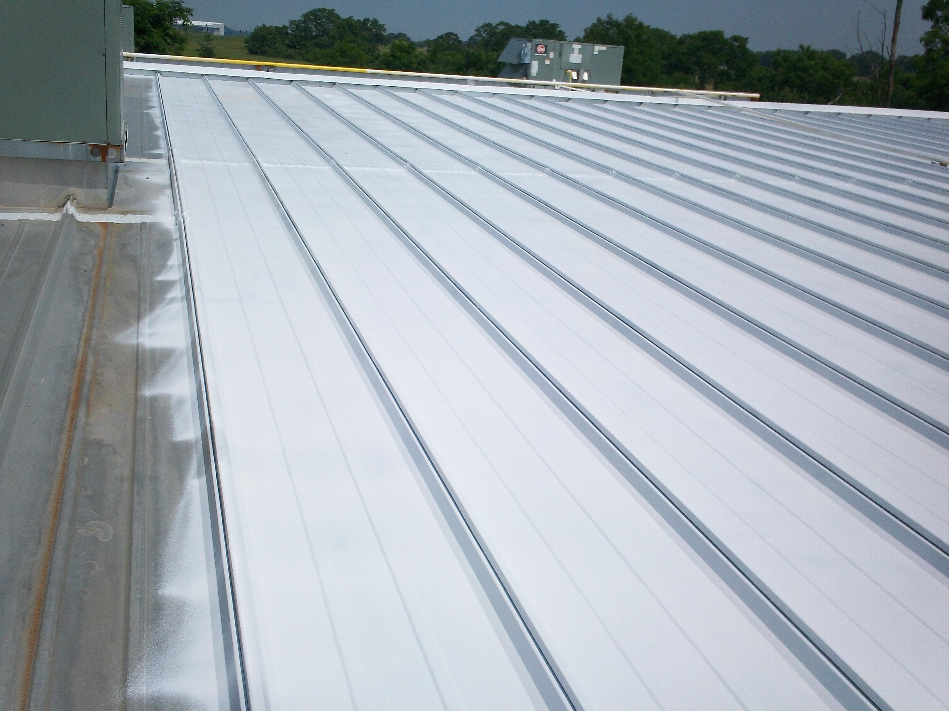 metal Roof topps