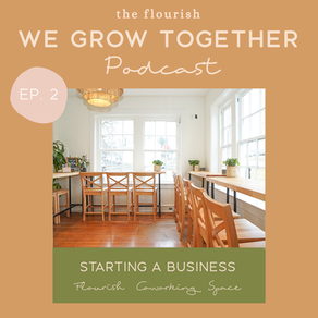 Ep. 2: Flourish - Taking a Business From Ideation to Launch, Start-up Challenges & Keys to Success