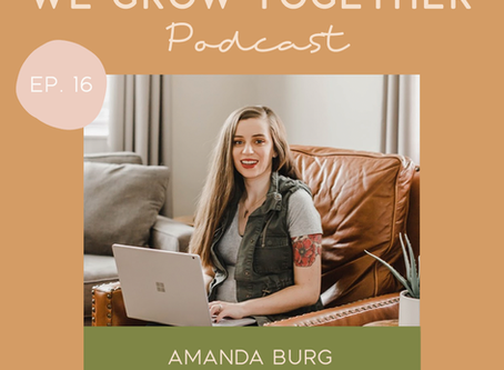 Ep.16: Amanda Burg, Amanda Burg Design - Brand Messaging & Building a Converting Website