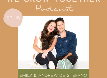 Ep. 18: Emily & Andrew De Stefano, Husk x Tribe - A Business That Grows Organically