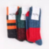 Тёплые Шерстяные носки Happy Socks