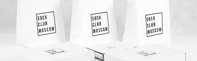 Sock Club Moscow Packaging