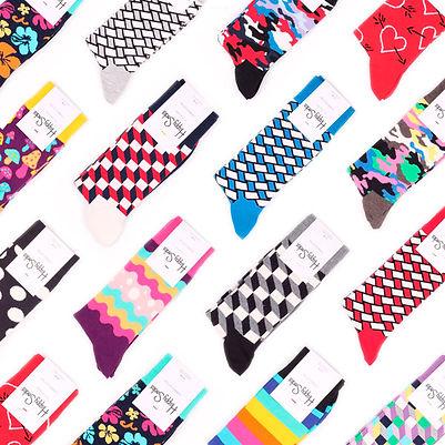 Носки от шведского бренда Happy Socks в интернет магазине носков Sock Club Moscow