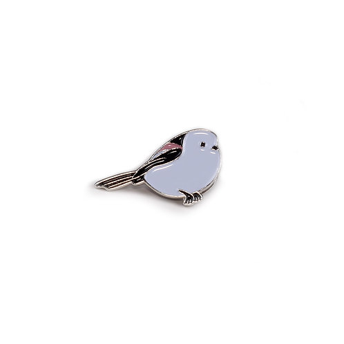 Circle Of Unity Pin Badge «Long Tail Tit»