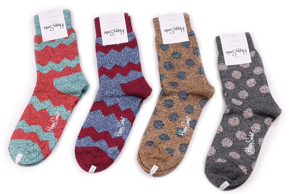 Happy Socks Wool Buy Online at Sock Club Moscow