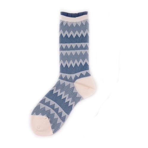 Hansel from Basel Small Zig Zag Socks