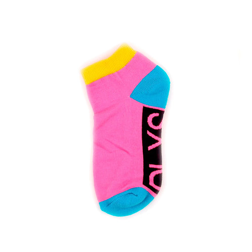 Daniil Landar x Stoyn Socks Ankle Pink