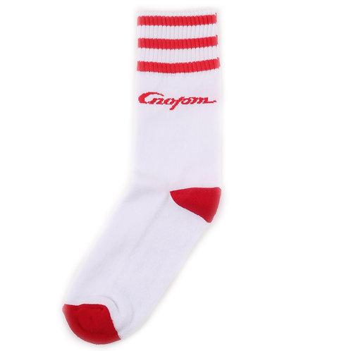 Zaporojec Sport Socks - Stripes Red