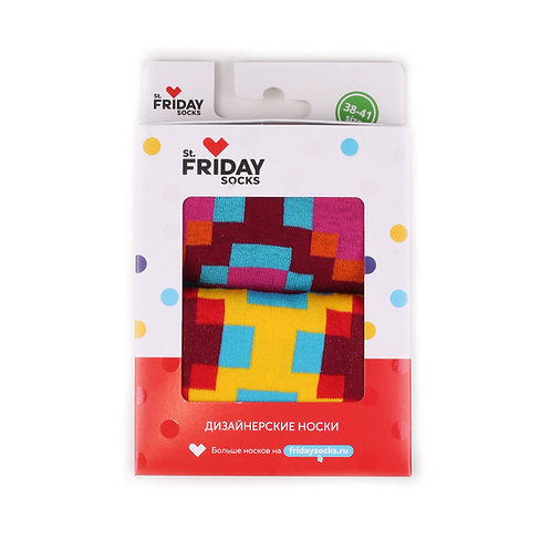 St.Friday Socks 2 Pair Pack - Groovy