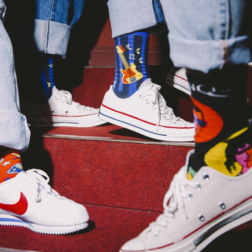 Коллекция носков Happy Socks x Queen