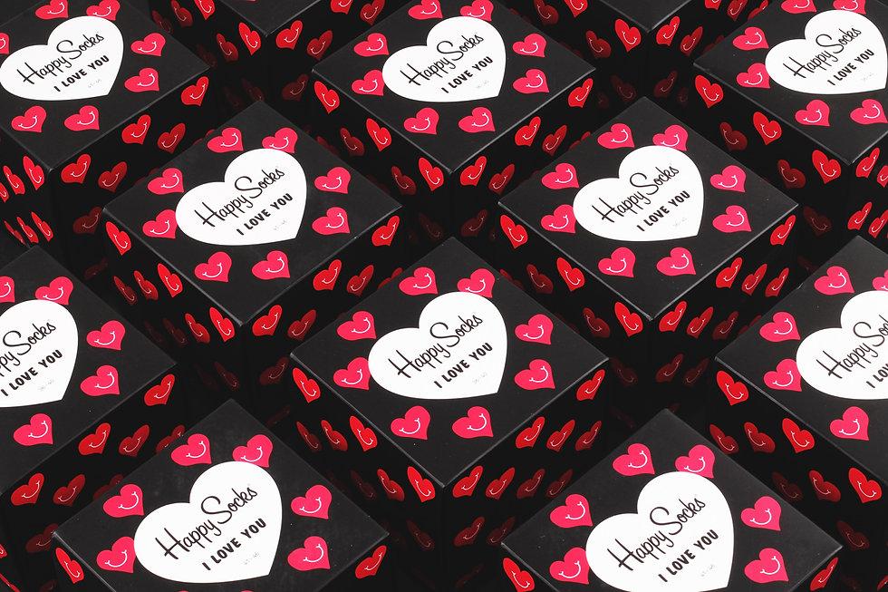 Носки в подарок к дню святого валентина