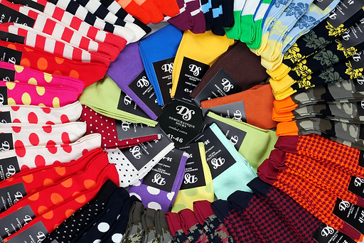 Носки от датского бренда Democratique Socks в интернет магазине Sock Club Moscow