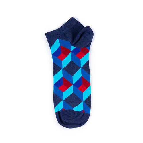 Happy Socks Low - Optic Square