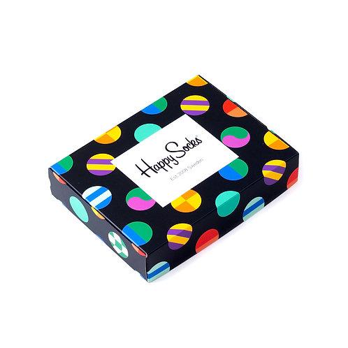 Happy Socks Подарочная упаковка для 2-х пар носков - Dots