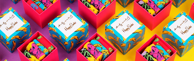 Happy Sock x Andy Warhol Sock Collction