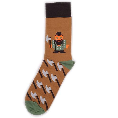 Burning Heels - Lumberjack - Brown