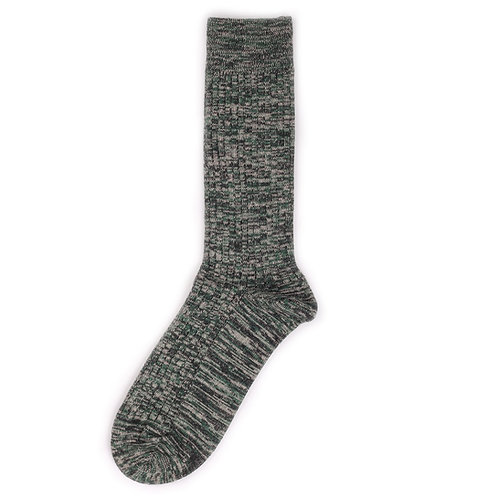 Yarn Works Socks - Work #6 - Green