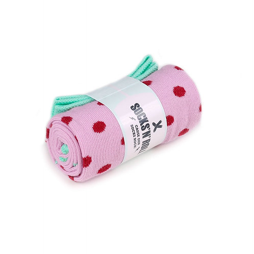 Socks'N'Roll - PolkaDot - Pink