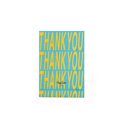 Happy Socks Подарочная упаковка для 1-3-х пар носков - Thank You