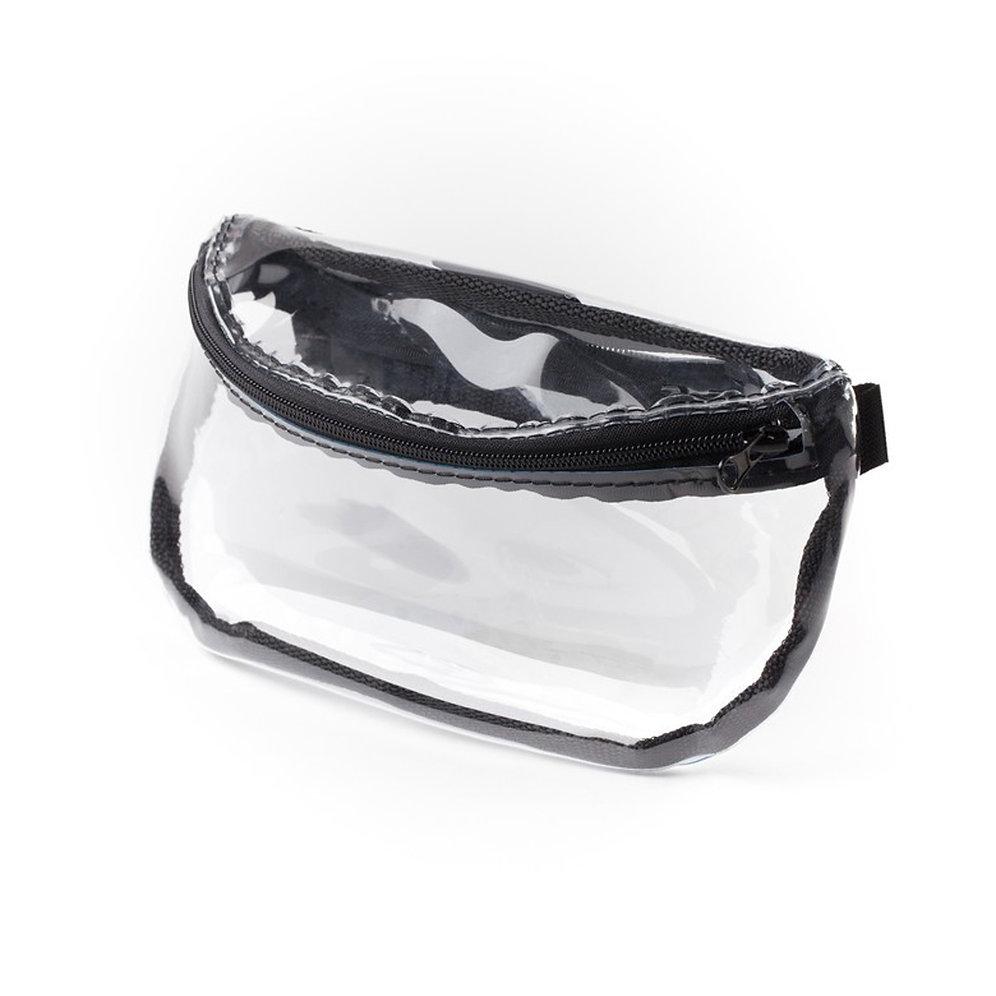 86ac74b2cdd Классическая сумка на пояс из прозрачной ПВХ пленки