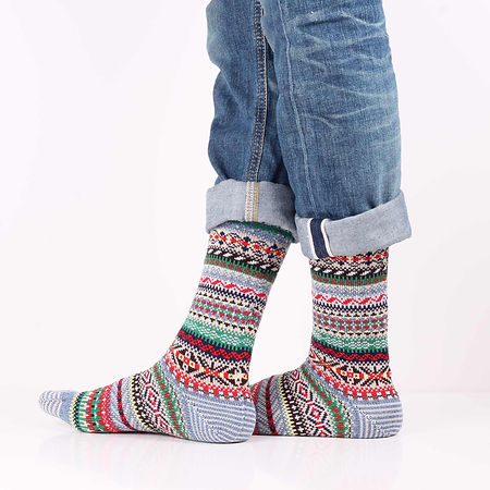 Chup Kevat Green Socks at Sock Club Moscow