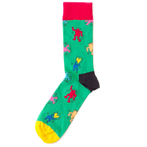 Happy Socks x Keith Haring - Dancing Sock